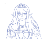 Princess Asuna by cutelightangel
