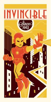 Invincible Since 1963 by Montygog