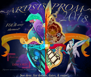 '~`Artists' Prom 2018!!(ANNOUNCEMENT!)`~' by ProphecyVII