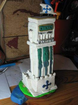 Enies Lobby: Tower of Justice by Awasai