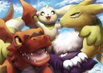 Digimon Tamers by Siplick