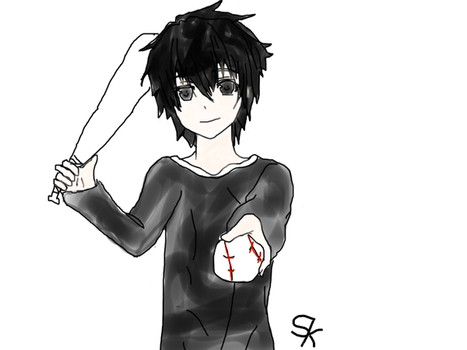 Sexy Baseball boy? Colored Version OLD by Staticth1