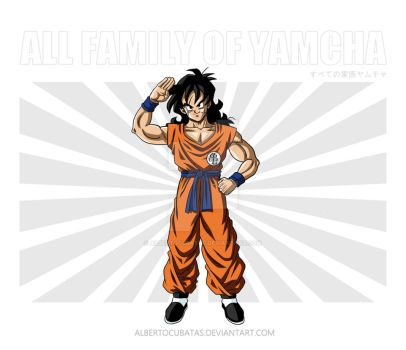 All family of Yamcha by albertocubatas