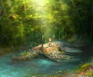 forest by tahra