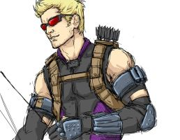 Hawkeye by AndouHayate