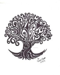 Tree Tattoo by Danni-Chan15