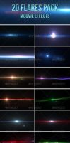 20 Lens Flares Pack-Moovie Effects by madalincmc