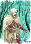 Aragon Hawke In the forest by charly-resvil