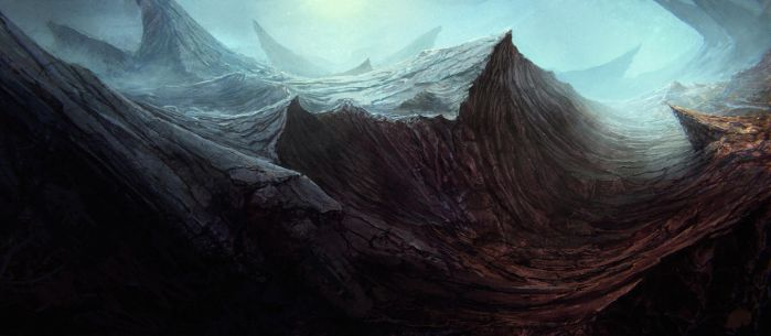 Coldstone Mountains by NewmanD