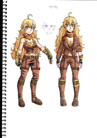 Yang Xiaolong - AU outfit by RKS-Kogiro