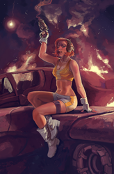 Sci-Fi Pin Up by ncorva