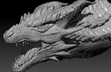 3D Dragon Ariade by Decadia