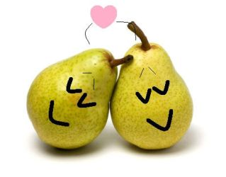 pears in love by thecrazyworldofjack