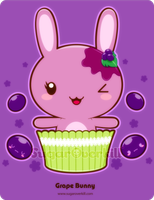 Grape Truffle Bunny by mAi2x-chan