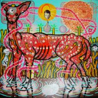 Deer, unfinished 3 by jopearce
