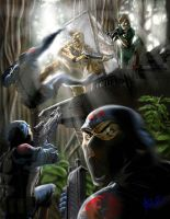 Gung Ho and Lady Jaye by ArtistAbe
