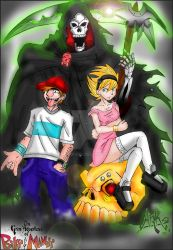 Billy And Mandy by ArkTheFury