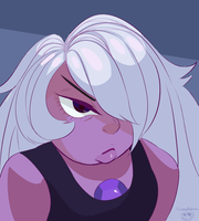 Salty Amethyst by snakebelladonna