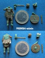 Barbarian size, 33mm by Papah-minis