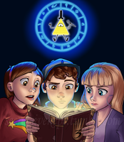 Gravity Falls by Starwarrior4ever