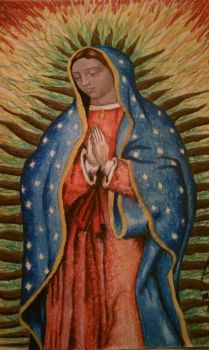 Our Lady of Guadalupe by ArtdeAdam