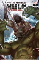 THE IMMORTAL HULK #10 INHYUK LEE CONAN VS MARVEL by inhyuklee