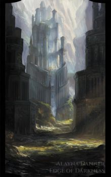 Edge of Darkness: The Keep by Alayna