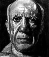 Pablo Picasso by raschiabarile