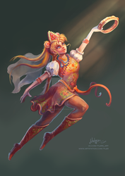 Sailor Moon Crossover by FlerPainter
