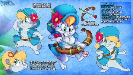 Remmie's New Reference by AmandaDaHamster