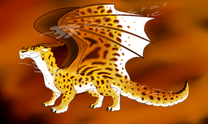 Leopard dragon-OPEN! by CrystalCircle