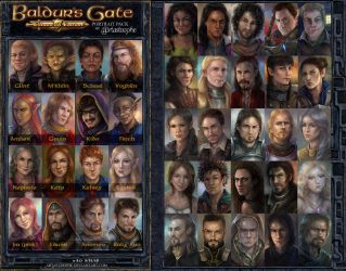 Portrait Pack - 3rd Edition by artastrophe