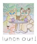 Lunch Out by Etrenelle
