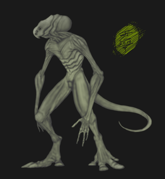 Alien design 1 by JTCreepyface8743