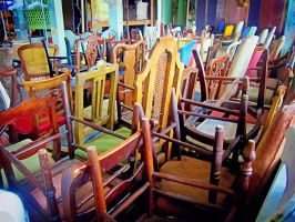 Chair Stacks by emshore