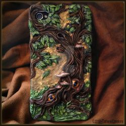 iPhone Woodland Case by TatharielCreations