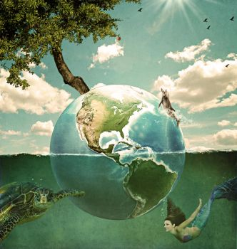 Every Day is Earth Day by Splat-Shot