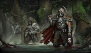 Venusian Rangers A heretic hunt in Venusian Jungle by mykmyk140