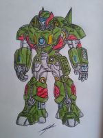 COSMOS TRANSFORMERS BATTLE MACHINE by GUILLERMOTFMASTER