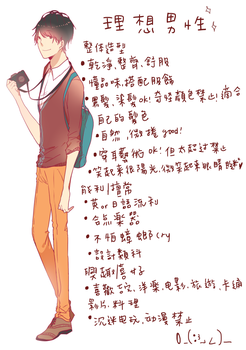 If He Was My Boy Friend+Chinese+ by DevilPink