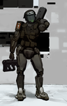 Austro-Hungarian Power Armour by flurrys-art