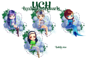 Ych hydrangea pearls batch 1 by Yettyen