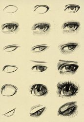 Eyes reference by ryky