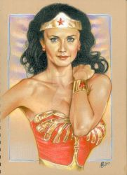 Lynda Carter Wonder Woman by prmedia