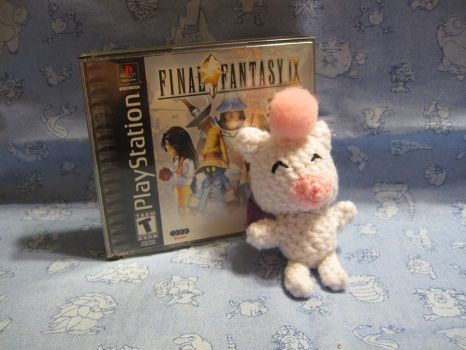 Moogle from FF9 by giraffesonparades