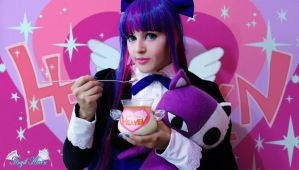 Jean Paul Heaven Panty Stocking Garterbelt cosplay by Angel--Arwen