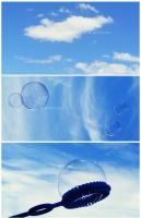 like bubbles in the air. by einfachso