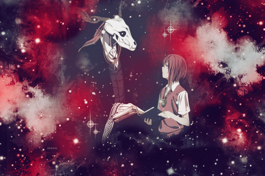 Chise y Elias Wallpaper by M-Haruse
