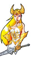 She-Ra by Sanchez by Mythical-Mommy