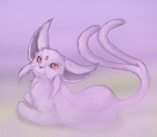 Espeon by TheFlyingDead